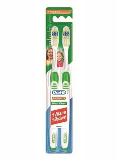 Oral-B Diş Fırçası 3 Etki Maxi Clean 40 Or,RNKL Renkli
